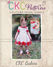 Maylee's Babies Bow Hem Dress PDF Pattern