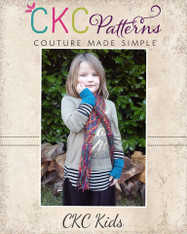 Mitzi's Girl's  Crochet Scarf and Mitts with Bonus Bag  PDF Pattern