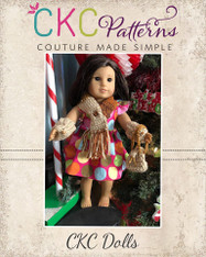 Mitzi's Crochet Scarf and Mitts with Bonus Bag Doll Sizes  PDF Pattern