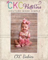 Rainey's Baby Knit Ruffle Sleeve Top PDF Pattern