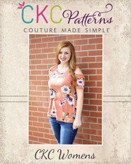 Monica's Women's Cold Shoulder Top and Dress PDF Pattern