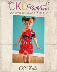 Winlee's One Shoulder Dress PDF Pattern