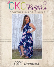 Holland's Women's High-Low Dress PDF Pattern