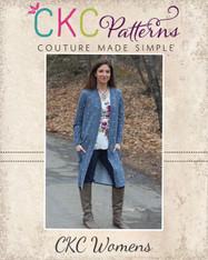 Calliope's Women's Comfy Cardi PDF Pattern