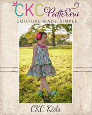Daisy's Petal Collar Dress, Top & Romper PDF Pattern
