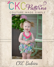 Daisy's Baby Petal Collar Dress, Top, & Romper PDF Pattern