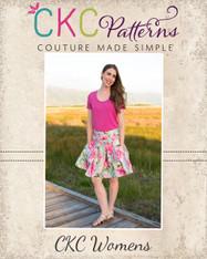 Pauline's Women's Pleated Skirt PDF Pattern