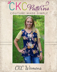 Chelsea's Women's Crossover Hem Top PDF Pattern