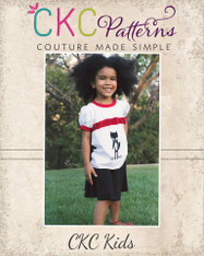 Panelyn's Ruched Ringer T-Shirt and Circle Skort PDF Pattern