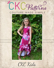 Holland's High-Low Dress PDF Pattern