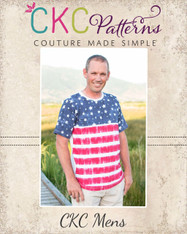 Malachi's Men's Color Block Tee PDF Pattern