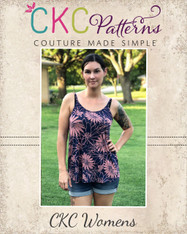 Kendal's Women's Tank Top PDF Pattern