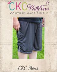 Greg's Men's Knit Shorts PDF Pattern