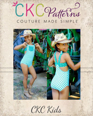 Darleen's Western Dancewear Sizes 2T to 14 Girls PDF Pattern