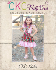 Birdie's Sunday Brunch Dress Sizes 2T to 14 Girls PDF Pattern