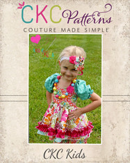 Valerie's Girls and Tween Shirred Bolero PDF Pattern