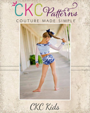 Romy's Radical Dancewear Sizes 2T to 14 Girls PDF Pattern
