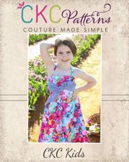 Gidget's Retro Dress sizes 2T to 14 Girls PDF Pattern