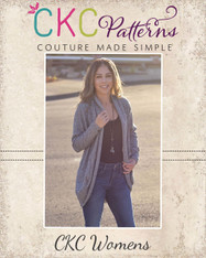 Chrysalis' Cardigan sizes XXS to 3X Women PDF Pattern