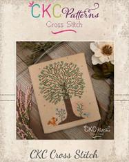"""4 Seasons """"Summer"""" Cross Stitch PDF Pattern"""