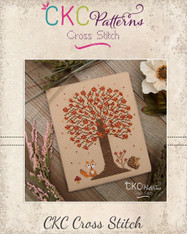 "4 Seasons ""Autumn"" Cross Stitch PDF Pattern"