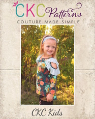 Jayla's Cold Shoulder Tunic Sizes 2T to 14 Girls PDF Pattern