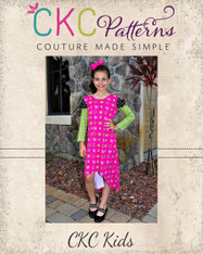 Beyonce's Bow-licious Top and Dress Sizes 2T to 14 Girls PDF Pattern