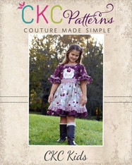 Evelyn's Dress Sizes 2T to 14 Girls PDF Pattern