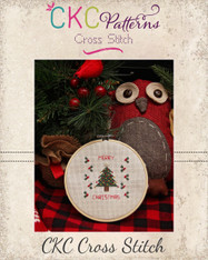 """""""Merry Christmas"""" Cross Stitch PDF Pattern"""