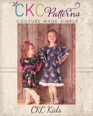 Sylvia's Sweet Knit Dress Sizes 2T to 14 Girls PDF Pattern