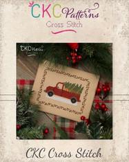 """""""Christmas Truck"""" Cross Stitch PDF Pattern"""