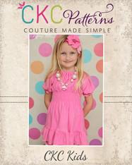 Kayla's  Girls and Tweens Knit Ruffle Top and Dress PDF Pattern