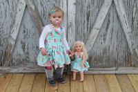 Pared with matching girls Poppy's Dress