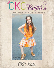 Ashli's Pleated School Girl Dress Sizes 0-3 to 15/16 Girls PDF Pattern