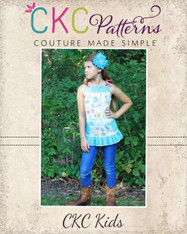 Allegra's All-Purpose Pinafore Top Sizes 6/12m to 15/16 Girls PDF Pattern
