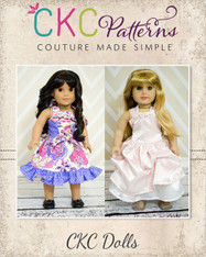 Cheyenne's Perfect Party Dress Doll Size PDF Pattern