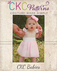 Bethany's Baby Fancy Party Dress PDF Pattern