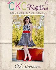 Suzanne's Women's Sweetheart Swirly Dress PDF Pattern
