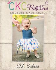 Poppy's Baby Peekaboo Dress PDF Pattern