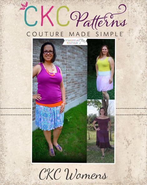 Wendys Womens Boutique Knit Yoga Skirt Pdf Pattern