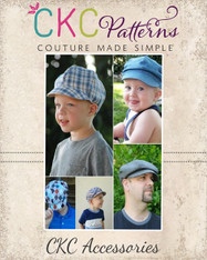 Christopher's Newsboy Cap PDF Pattern