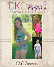 Naomi's Tween Ruffle Bikini PDF Pattern