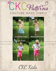 Junie's Everyday Skort PDF Pattern