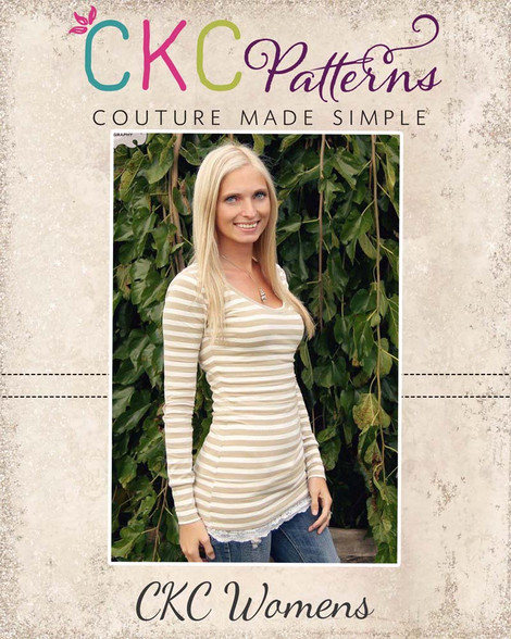 Evies Womens Everyday Knit Top Pdf Pattern