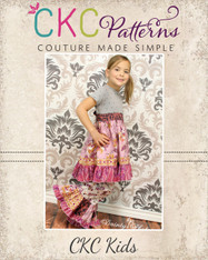 Marnie's Pieced Ruffle Pants and Capris PDF Pattern