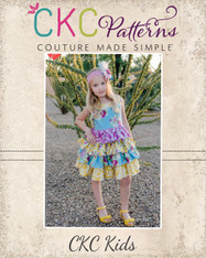Blanche's Frilly Top and Dress PDF Pattern