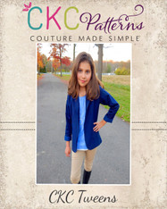 Roxie's Tween Fitted Blazer PDF Pattern