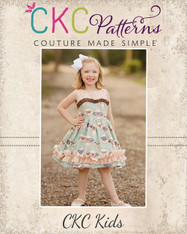 Celeste's Classic Boat Neck Dress and Top PDF Pattern