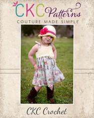 Juliette's Crochet Bodice Top and Dress PDF Pattern