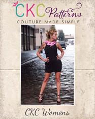 Pandora's Womens Pleated Collar Dress PDF Pattern